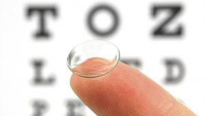 OrthoKeratology lens used for myopia control